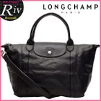 ショッピング 決算セール ロンシャン バッグ ショルダーバッグ LONGCHAMP ル・プリアージュ・キュイール 折りたたみ 2way 1512-737