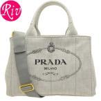 プラダ PRADA バッグ ショルダーバッグ 2way カナパ ホワイト デニムキャンバス 1bg439denim-bian
