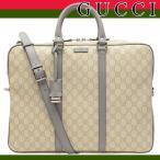 グッチ GUCCI バッグ メンズ ブリーフケース ビジネスバッグ トートバッグ グッチシマ 2way GG 208463
