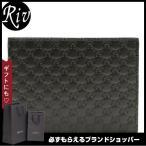 グッチ GUCCI 財布 二つ折り メンズ ブラック マイクログッチシマレザー 292534bmj1n1000 アウトレット限定モデル