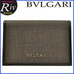ブルガリ BVLGARI カードケース 名刺入れ メンズ 32588