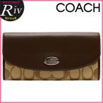ショッピングコーチ コーチ 財布 COACH 二つ折り長財布 コーチ シグネチャー 新作 アウトレット F53617