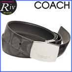 コーチ COACH ベルト メンズ リバーシブル シグネチャー アウトレット F64828