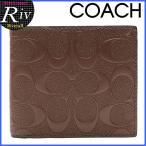 ショッピングコーチ アウトレット コーチ 財布 COACH メンズ 新作 二つ折り シグネチャー アウトレット f75363