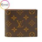 ルイヴィトン LOUIS VUITTON 財布 二つ折り LV メンズ m62288