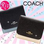コーチ COACH 財布 二つ折り Wホック オフホワイト f57825