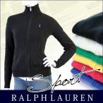 クリアランスセール Ralph Lauren ラルフローレン パーカー ジップ  レディース 新作 ジップアップ ニット セーター ポニー