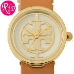 ショッピングトリーバーチ スペシャルセール トリーバーチ TORYBURCH 腕時計 レディース REVA 28mm ライトブラウン ゴールド テンレス レザー trb4004
