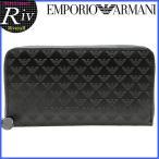 エンポリオアルマーニ EMPORIO ARMANI 財布 長財布 ラウンドファスナー メンズ yeme49