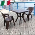 ガーデンセット ガーデン 3点セット テーブル セット チェアー イタリア製