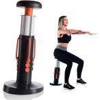 スクワットマジックアジャスタブルハイトジムトレーニングバットコア脚太ももエクササイズマシン筋力を強化し、自宅で筋肉を鍛える