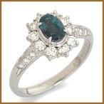 PT900 アレキサンドライト ダイヤモンド リング 指輪