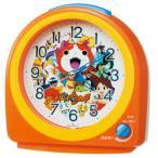 セイコークロック SEIKO CLOCK 妖怪ウォッチ 目覚まし時計 CQ138E(オレンジ塗装)