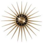 送料無料 Emits Time エミッツタイム ウォールクロック(壁掛け時計 ミッドセンチュリー モダン レトロデザイン 大型 レトロ クロック ゴールド 大きい時計