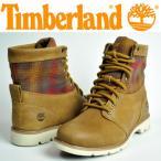 ショッピングTimberland Timberland(ティンバーランド/レディース ブーツ)6インチ ブラムホール ファブリック&レザー(A11LA)