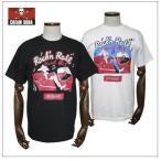 クリームソーダ   CS50th Twist No.1Tシャツ ブラック/ホワイト CREAM SODA