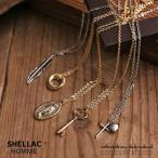 SHELLAC HOMME シェラックオム 日本製 ネックレス メンズ アクセサリー シルバー ゴールド