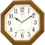 シチズン リズム時計工業 夜光点灯ルック 壁掛け時計 4MY645 アナログ
