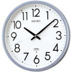 SEIKO セイコー クロック オフィスタイプ スイープ秒針 電波掛け時計 電波壁掛け時計 KS265S アナログ 金属銀色半光沢