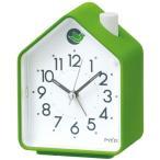 SEIKO PYXIS セイコー ピクシス 小鳥のさえずり クォーツ 目覚し時計 NR434M 緑色 グリーン アナログ