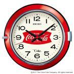 SEIKO CLOCK セイコークロック コカ・コーラ コラボ ヴィンテージ シリーズ クォーツ 壁掛け時計 AC201R 250台限定 赤 レッド アナログ