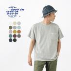 GOOD ON(グッドオン) ショートスリーブ ベーシック ポケット / クルーネック Tシャツ / 無地 / アメリカ製生地 / 日本製