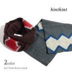 HINTHINT(ヒントヒント) フェアトレード / ネイティブ柄 スヌード / ジグザグ / メンズ / レディース