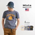 MIXTA (ミクスタ) ヴィンテージ 半袖 スウェット / アメカジ / Tシャツ / メンズ / アメリカ製