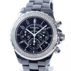 シャネル メンズ腕時計 J12 クロノグラフ 41mm H1009 セラミック 中古A品 1346101_関内店