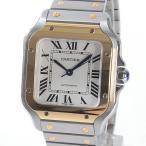 カルティエ ボーイズ腕時計 サントス ドゥ カルティエMM W2SA0007 ステンレス 中古A品 1355996_横浜西口店
