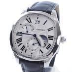 カルティエ メンズ腕時計 ドライブ ドゥ カルティエ ラージデイト WSNM0005 ステンレス 中古A品 1357492_元町本店