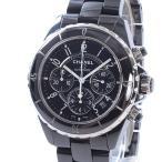 シャネル メンズ腕時計 J12 クロノグラフ H0940 セラミック 中古A品 1375497_横浜西口店