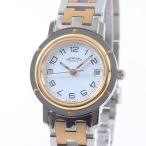 エルメス レディース腕時計 クリッパー CL4.220 ステンレスxゴールドメッキ 中古A品 1378830_横浜西口店