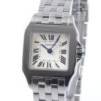 カルティエ レディース腕時計 サントスドゥモワゼルSM W25064Z5 ステンレス 中古A品 1380764_横浜西口店