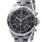 シャネル メンズ腕時計 J12クロノグラフ H0940 セラミック 中古A品 1413881_横浜西口店