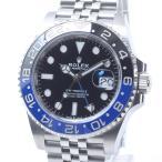 ロレックス メンズ腕時計 GMTマスター2 126710BLNR ステンレス 中古A品 141499...