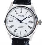 セイコー プレサージュ メンズ腕時計 SARX049  ホワイト メンズ 未使用品