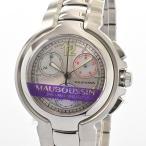 モーブッサン メンズ腕時計 メンズ腕時計 463  シルバー メンズ 未使用品