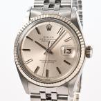 ロレックス デイトジャスト メンズ腕時計 1601 2番 シルバー メンズ 【中古】A品