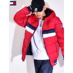 TOMMY HILFIGER トミー ヒルフィガー ジャケット 中綿ジャケット メンズ NYLON QUILTEDCOLOR BLOCKEDHOODY BOMBER JACKET 158AN594-R