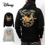 ディズニー ミッキーマウス 別注 パーカー ジップ スウェット ミュージック 刺繍 Disney Mickey 53511