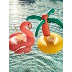 SUNNYLIFE サニーライフ ドリンクホルダー 浮き輪 アウトドア フロート グッズ DRINK HOLDER 2個 トロピカル フラミンゴ ヤシの木 ビーチ プール S8LDRKTR