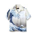 サンサーフ SUN SURF アロハ シャツ アロハシャツ メンズ レディース 葛飾北斎 富嶽三十六景 神奈川沖浪裏 SPECIAL EDITION 和柄 半袖 東洋 日本製 SS37651