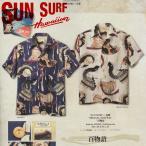 サンサーフ SUN SURF アロハ シャツ 半袖 葛飾北斎 百物語 東洋 SS37653 予約販売中