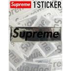 ショッピングシュプリーム 【ゆうメール便送料無料】Supreme シュプリーム ステッカー 1枚セット ボックスロゴ Raised Plastic BOX LOGO シール SUP-STICKER-PLA-S