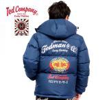 テッドマン カミナリモータース ダウンジャケット TEDMAN KAMINARI WED コラボ TDWN-010
