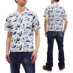 桃太郎ジーンズ アロハシャツ Momotaro Jeans オープンカラーシャツ 06-091 白 新品
