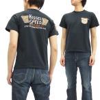 フェローズ 半袖Tシャツ 16S-PT3 Pherrow's Tシャツ KISSEL SPEED S.ブラック 新品