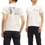 ショッピングアメカジ フェローズ 半袖Tシャツ Pherrow's Tシャツ タイヤメーカーモチーフ メンズ アメカジ ワーク Tシャツ 18S-PT3 白 新品