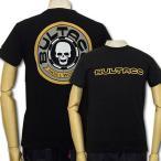 ブルタコ BULTACO×スカルワークス 半袖Tシャツ コラボ 21101 黒 新品